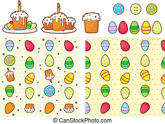 Easter theme pattern