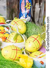 Easter Time - Easter eggs for Easter festival