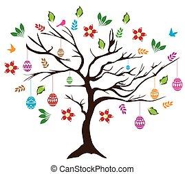 Easter tree