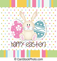 Easter - abstract Happy easter background with special...