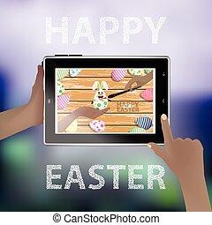 Easter vector. Illustration for your design