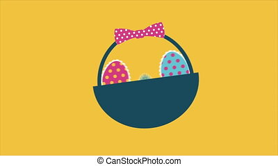 Easter Video animation
