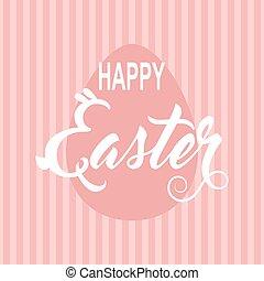 Easter vintage card. Vector illustration.