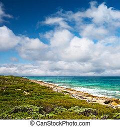 eastern coast of the Isla Contoy, Mexico