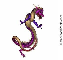 eastern dragon - 3d