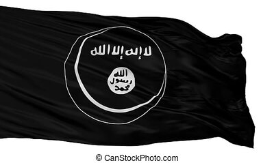 Eastern Indonesian Mujahideen Mujahidin Flag Isolated...