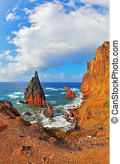 Eastern of the island of Madeira