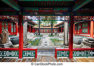 Eastern Palace Forbidden City Beijing China