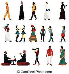 Eastern People Set