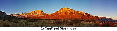 Eastern Sierra Mountain Sunrise