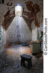 Eastern State Penitentiary Prison Cell