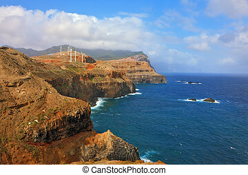 Eastern tip of the island of Madeira