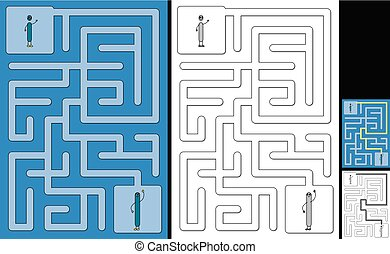 Easy alphabet maze - letter I - Easy alphabet maze for kids ...