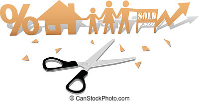 Easy Home Buying Family House Cutout