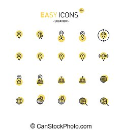 Easy icons 35d Location