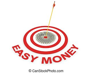 easy money concept  - easy money concept