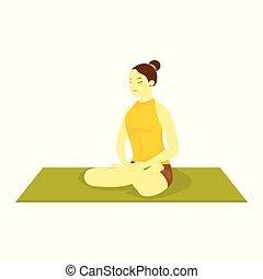 Easy Pose Yoga Meditation