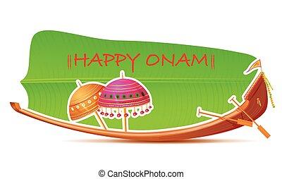 Happy Onam Background