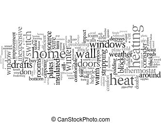 Easy Ways to Save Energy text background wordcloud concept