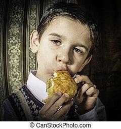 eat., 型, 子供, 衣服