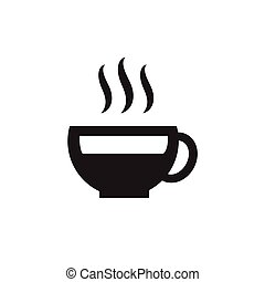 Eat, drink tea icon