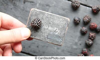 Eat heathy. Fruit diet or dieting, nutrition, vegetarian...