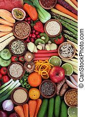 Eat Super Food for Good Health - Large healthy super food...