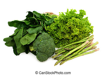 Eat Your Greens - Eat your greens ~ spinach, broccoli, curly...