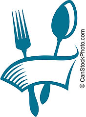 eatery, restaurant, of, pictogram
