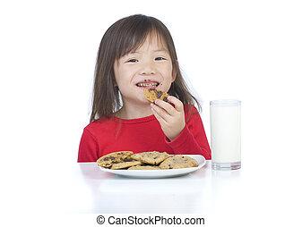 Eating Cookies
