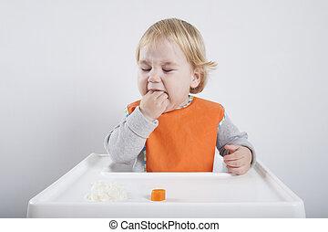 eating hand