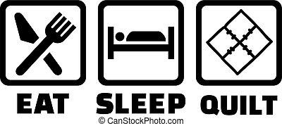 eat?sleep?quilt, steppen, ikone