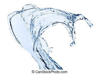 eau, éclaboussure