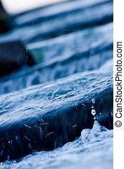 eau, écoulement