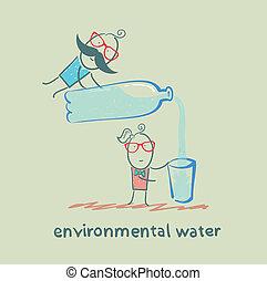 eau, ambiant
