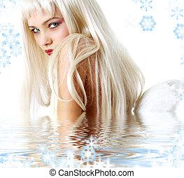 eau, ange