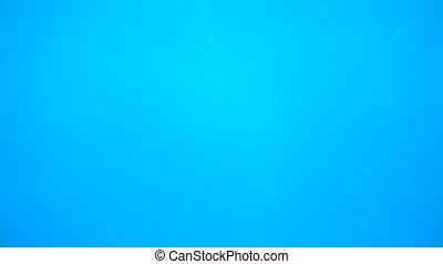 eau bleue, profond, océan