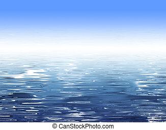 eau bleue, résumé, fond