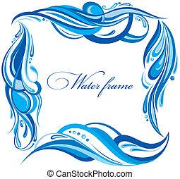 eau, cadre