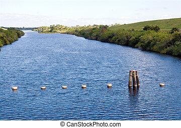 eau, canal, gestion