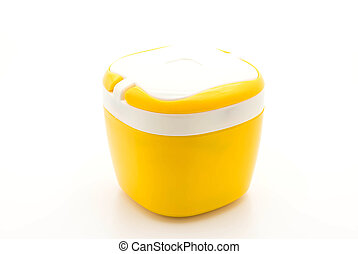 eau, cantine, jaune