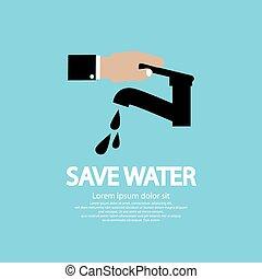 eau, conservation.