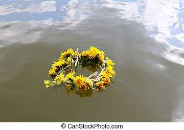 eau, couronne