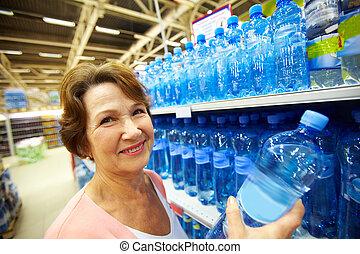 eau, femme