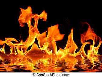 eau feu