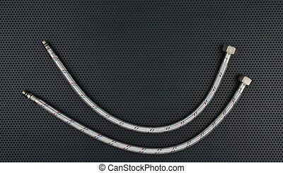 acier tuyau eau connect tress acier tuyau sans photographie de stock rechercher des. Black Bedroom Furniture Sets. Home Design Ideas