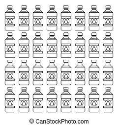 eau, frais, boisson