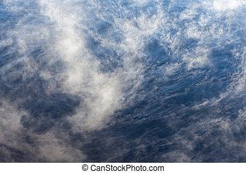 eau, froid, vapeur, surface
