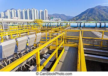 eau, gaspillage, tanks réservoirs, groupes