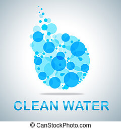 eau, h2o, propre, primitif, frais, spectacles